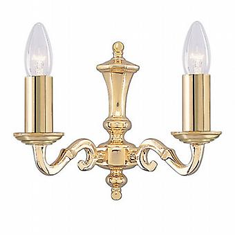 Searchlight Seville 2172-2NG Traditional Wall Lights Double