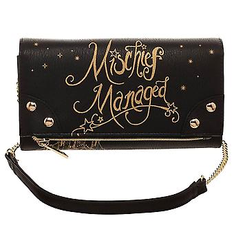 Harry Potter Mischief Managed Foldover Clutch Purse