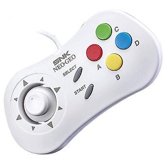 SNK NeoGeo mini konsola oficjalny Control pad biały-40-ty kontroler rocznica