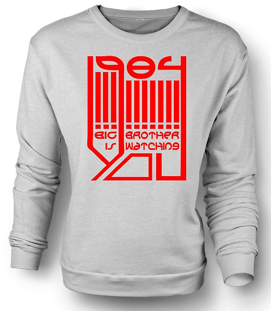 Mens Sweatshirt Big Brother Is Watching - Logo - 1984