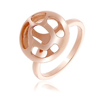 Orphelia Silver 925 Ring Rose Gold ZR-7374
