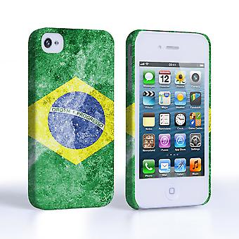 Caseflex iPhone 4 and 4S Retro Brazil Flag Case
