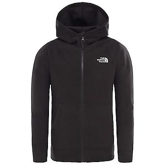 The North Face Black Boys Glacier Full Zip Hoodie