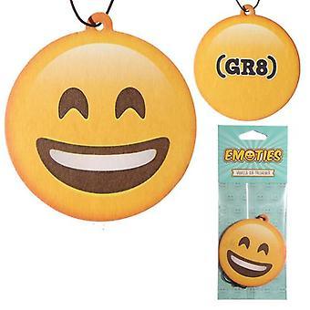 Smile Emoji Car Air Freshener Vanilla