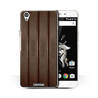 STUFF4 Case/Cover voor OnePlus X/vingers/Sticks/chocolade