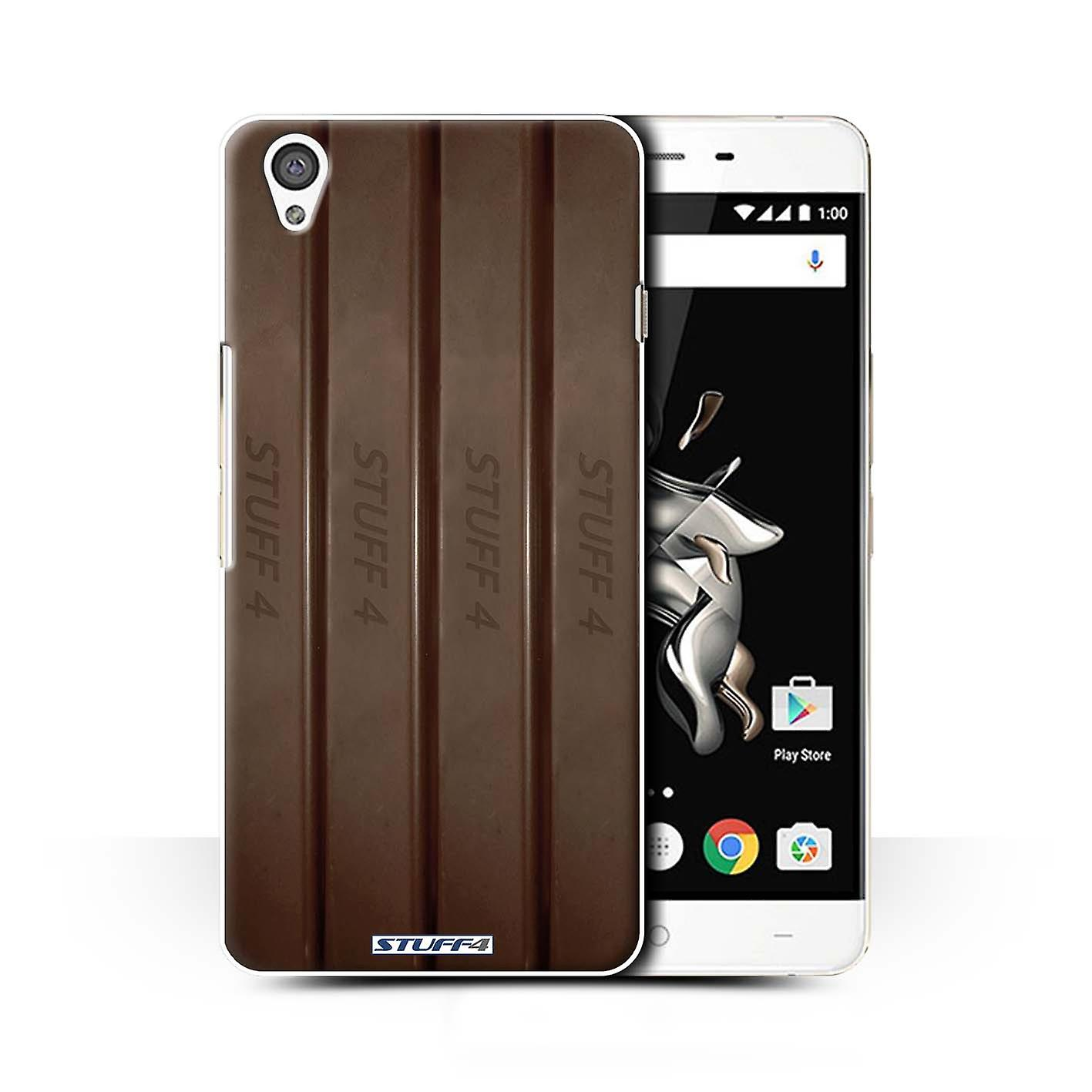 STUFF4 Case/Cover for OnePlus X/Fingers/Sticks/Chocolate