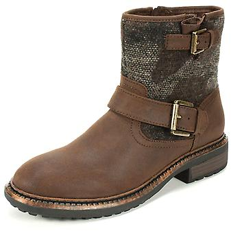 White Mountain Womens Carlin Fabric Closed Toe Ankle Fashion Boots