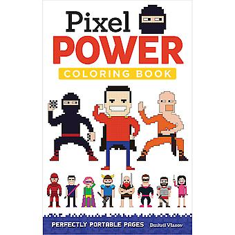 Design Originals-Pixel Power Coloring Book DO-5576