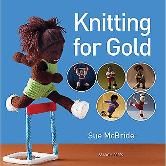 Search Press Books Knitting For Gold Sp 87912