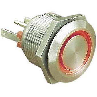 Tamper-proof pushbutton 24 Vdc 0.05 A 1 x Off/(On) Bulgin