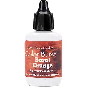 Ken Oliver Color Burst Powder 6gm-Burnt Orange KNCPW-6325