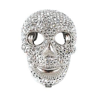 Butler & Wilson Crystal Skull vorm compacte spiegel