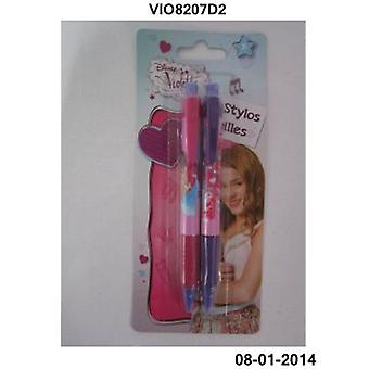 Import September 2 Pens Violeta (Toys , School Zone , Drawing And Color)