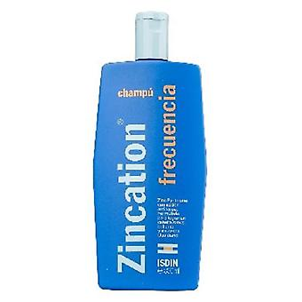 Isdin Zincation Frequent Use Shampoo 300Ml (Vrouwen , Capillair , Shampoo)
