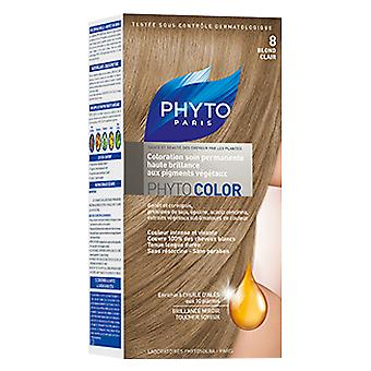 Phyto Color 8 Light Blonde Color Kit (Beauty , Hair care , Dyes)
