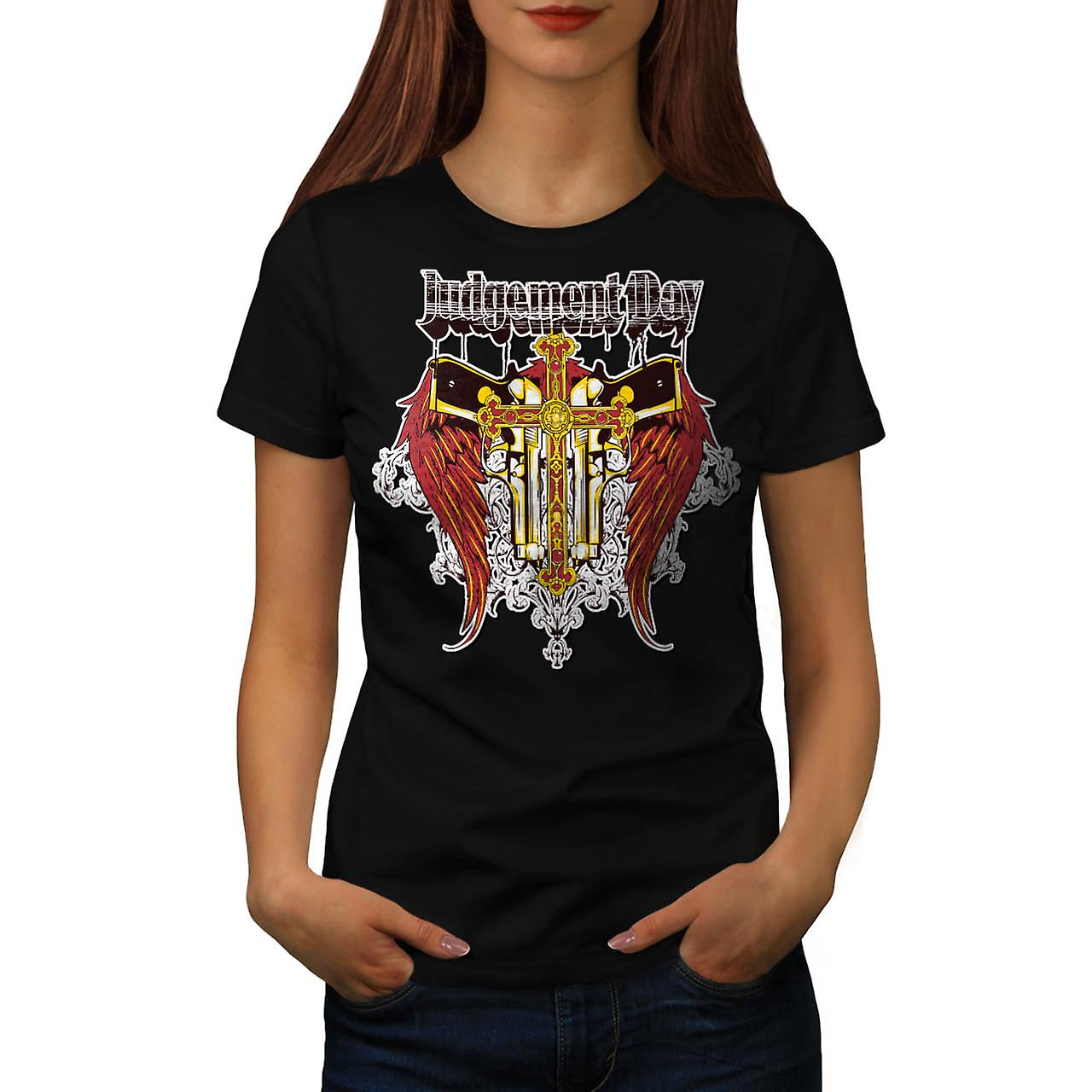 Judgement Day Hell Devils Lair Women Black T-shirt | Wellcoda