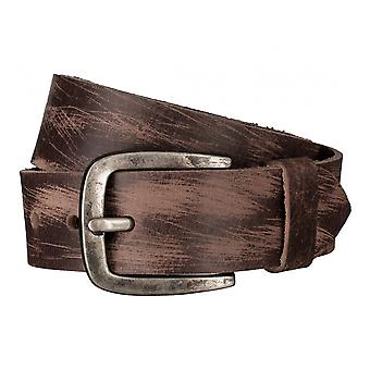 Pioneer belts men's belts leather belt Brown 3296