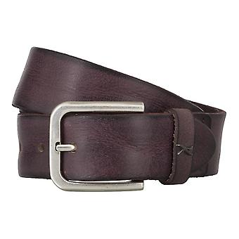 BRAX belts men's belts leather belt Bordeaux 4683