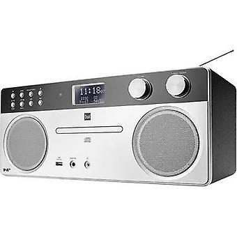 Audio system Dual DAB 555 AUX, Bluetooth, CD, DAB+, FM, USB, Silver