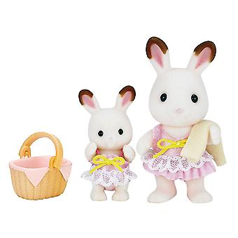 Sylvanian Families Girls Swimwear Set