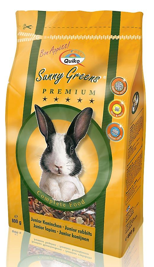 Quiko Junior Rabbit Sunny Greens Complete Food 800g