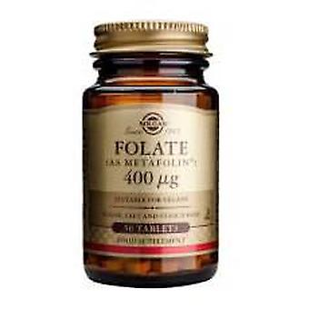 Solgar Folate 400mcg 50 Tablets