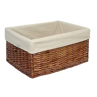 Extra Large Lined Double Steamed Storage Basket