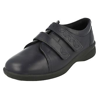 Ladies Padders Dual Fitting Flat Shoes Revive 2