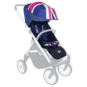 Easywalker Mini Kinderwagenzubehör Design Union Jack Denim