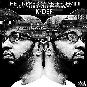 K-Def - uforudsigelige Gemini [Vinyl] USA import