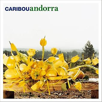 Caribou - Andorra [CD] USA import