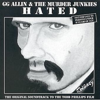 Gg Allin & mord Junkies - hadede [CD] USA Importer