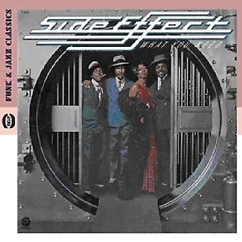 Side Effect - What You Need [CD] USA import