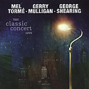 Mulligan/Shearing/Torme - Classic Concert Live [CD] USA import