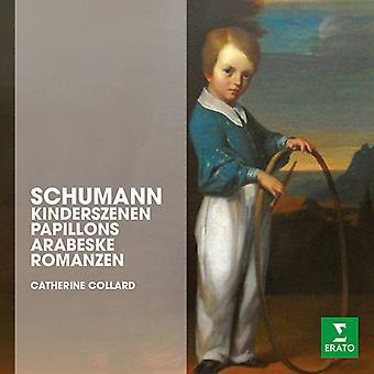 Schumann / Collard, Catherine - Kinderszenen Papillons Arabeske Romanzen Op 28 [DVD] USA import