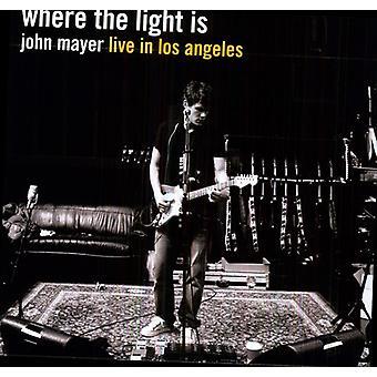 John Mayer - Where the Light Is [Vinyl] USA import