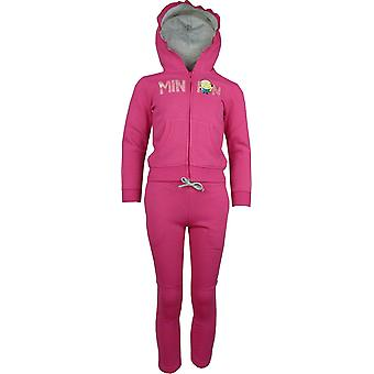 Girls Despicable Me Minions Tracksuit Jogging Suit HO1575
