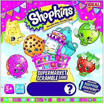 Ideel Shopkins supermarked Scramble spil