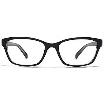 Carvela Small Rectangle Glasses In Black