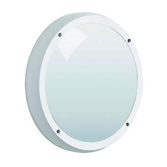 Bianco LED Robus Vega 14W LED IP65 paratia, emergenza con sensore a microonde