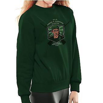Sarges overlevelse Academy Platoon sergent Barnes kvinders Sweatshirt