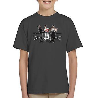 Pre spillet holdet taler Walking Dead Inglorious Bastards Kid's T-Shirt