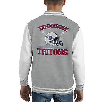 Bestie fantastiche lega Varsity Jacket di Tennessee tritoni casco Kid