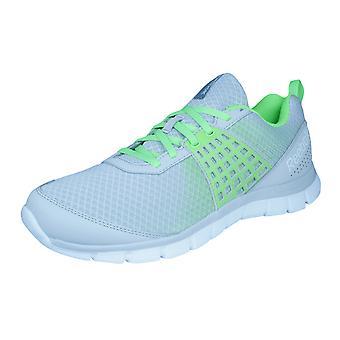 Reebok Z Dual Rush heren Trainers / schoenen - grijs en groen