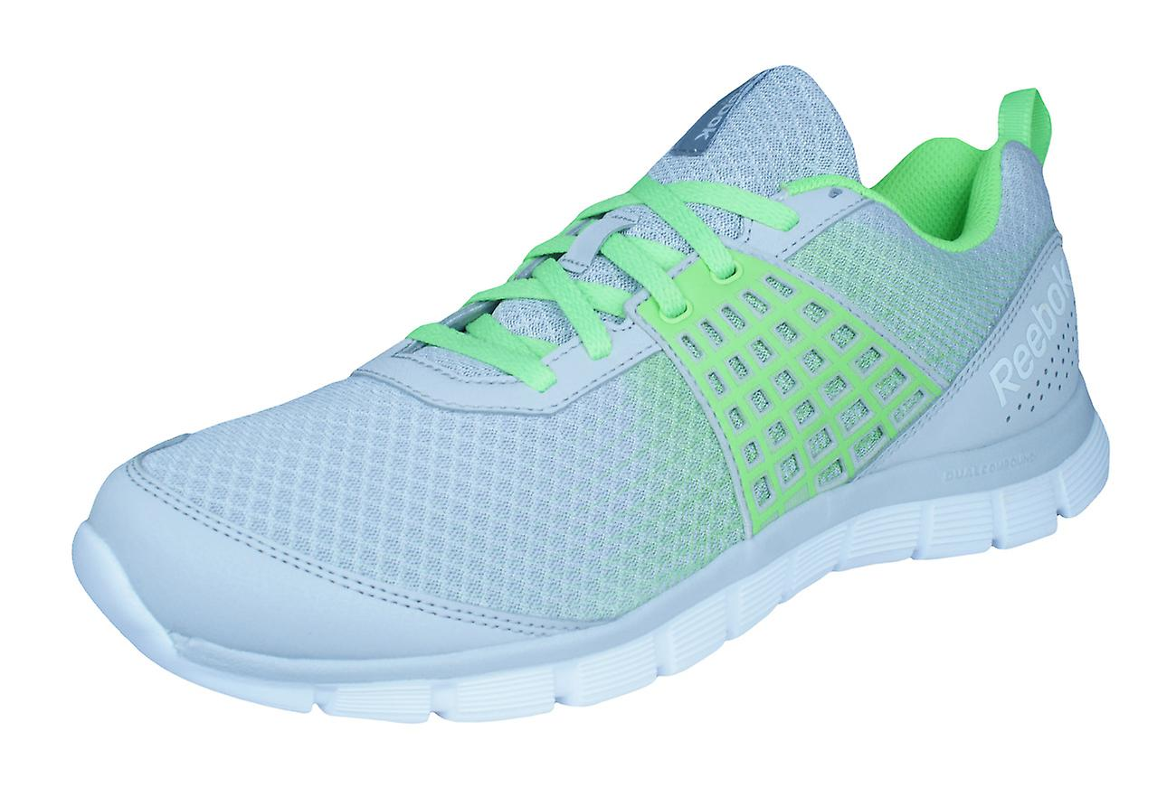 Reebok Z Dual Rush Mens Mens Mens Running Trainers / Shoes - Grey and Green 2d77c9