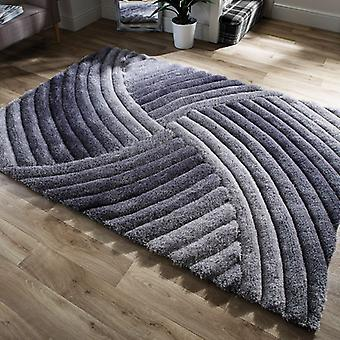 Rugs -Verge Furrow in Grey