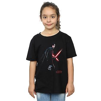 Star Wars Girls The Last Jedi Kylo Ren Shadow T-Shirt