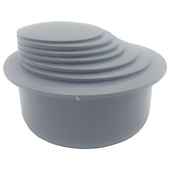 Gutter Down Pipe Downpipe Reducer 110mm to Any Size Reduction Guttering Fittings