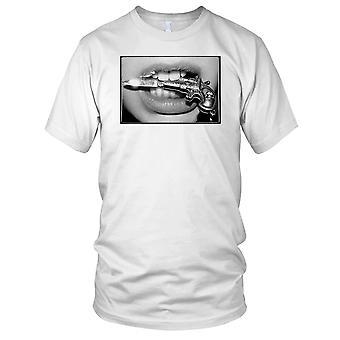 Ragazze con coltelli Mens T-Shirt