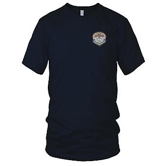 USAF Airforce - 33rd Pararescue Desert Embroidered Patch - Ladies T Shirt